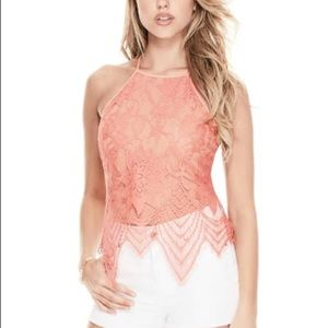 G by Guess Vita Lace top